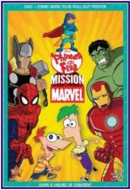 Phineas Y Ferb Mision Marvel