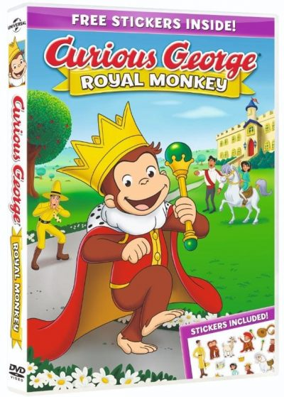Curious George Royal Monkey 2019